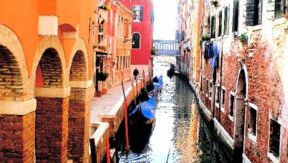 Orange Rust. Venice, Italy.