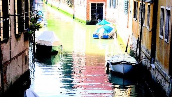 Ripples. Venice, Italy.