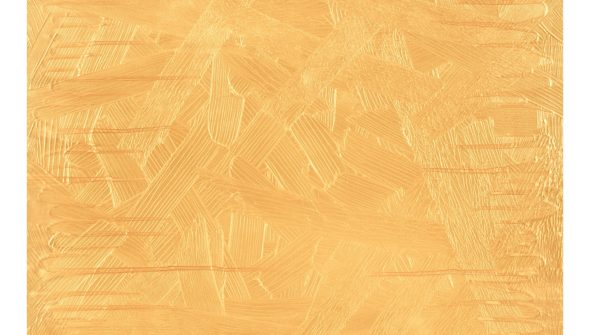 Stagnant Gold. 30x40. Carina Sohaili.